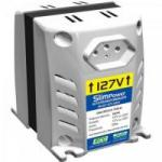 Autotransformador 127/220VAC 200VA SLIM POWER Branco RCG