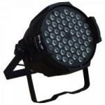 Aparelho de Iluminação 3W 54 LEDs Bivolt PROPAR RGBW Preto PLS