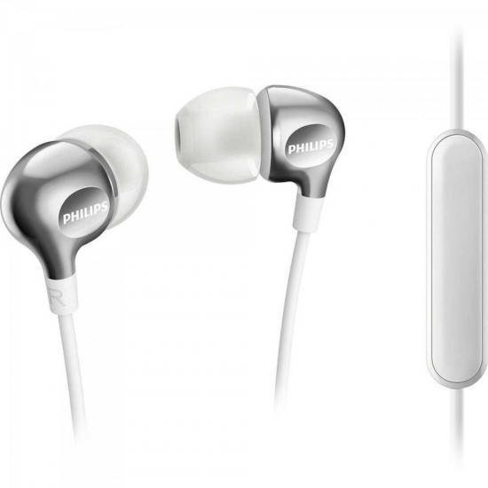 Fone de Ouvido Intra-Auricular com Microfone SHE3705WT/00 Branco PHILIPS