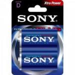 Pilha Alcalina D Stamina Plus AM1-B2A Sony Caixa c/24 pilhas (cartela c/2)