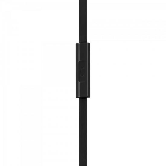 Fone de Ouvido com Microfone HMF-501BK Preto FORTREK