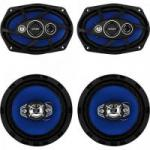 "Kit Alto Falante Quadriaxial 6x9"" + 6"" 55W RMS 4 Ohms ORION"