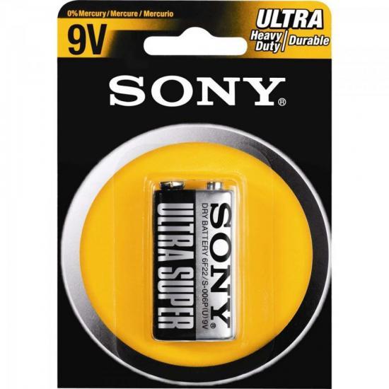 Bateria Zinco 9V S-006P Sony Caixa c/12 pilhas (cartela c/1)