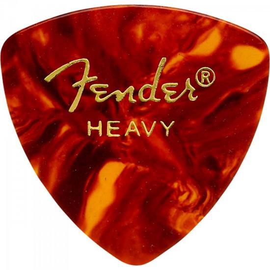 Palheta Celulóide Shape Classic 346 Heavy Tortoise Shell FENDER
