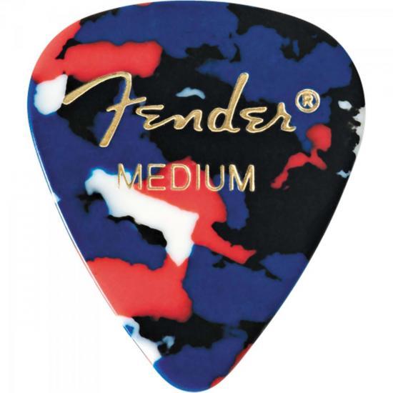 Palheta Celulóide Shape Classic 351 Medium Confetti FENDER