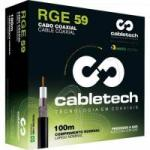Cabo Coaxial STD59 40 BR IMP R CABLETECH