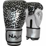 Luva de Boxe ANIMAL PRINT 12 OZ Onça Prata NAJA