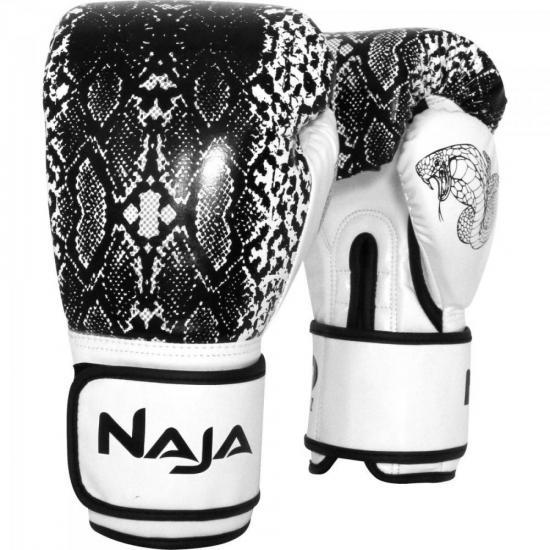 Luva de Boxe ANIMAL PRINT 12 OZ Cobra Pérola NAJA