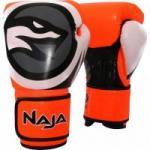 Luva de Boxe COLORS FLUOR 10-OZ Amarela NAJA