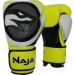 Luva de Boxe COLORS FLUOR 16-OZ Amarelo NAJA