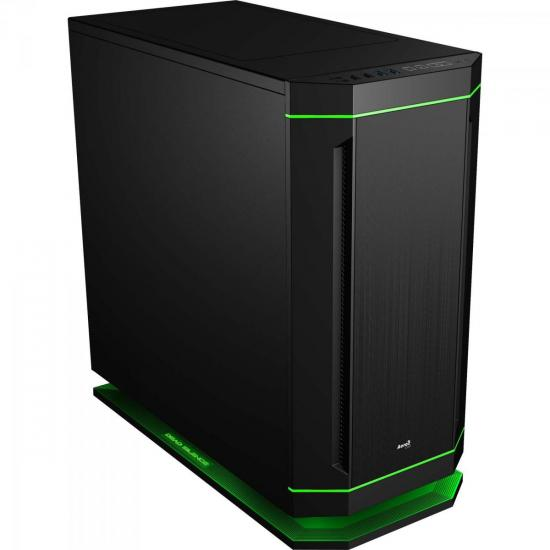 Gabinete Gamer Mid Tower DS-230 EN58331 Preto AEROCOOL