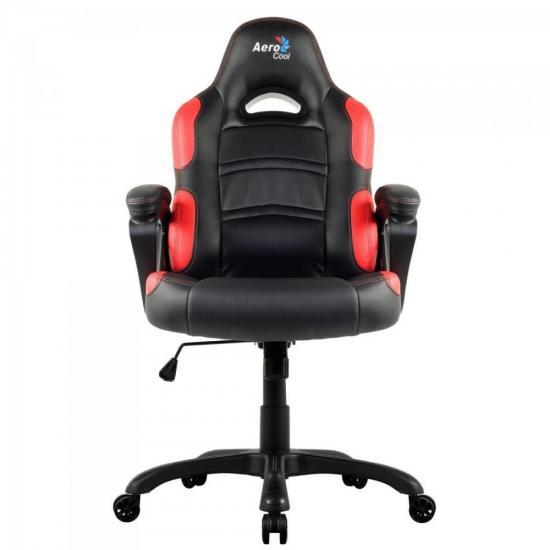 Cadeira Gamer Profissional AC80C EN55048 Preta/Vermelha AEROCOOL
