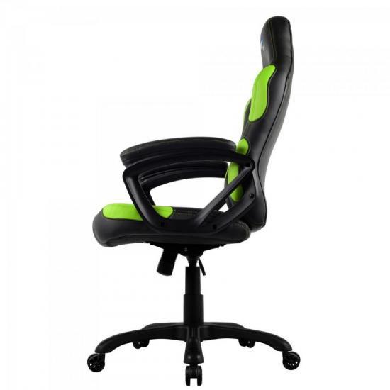 Cadeira Gamer Profissional AC80C EN55079 Preta/Verde AEROCOOL