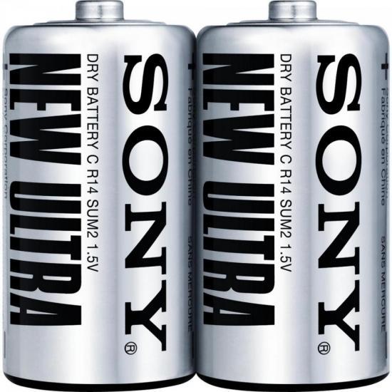Pilha Zinco C SUM2-NUP2A/Z Sony Caixa c/24 pilhas (shrink c/2)
