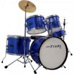 Bateria Infantil JUNIOR 4322 Azul TURBO