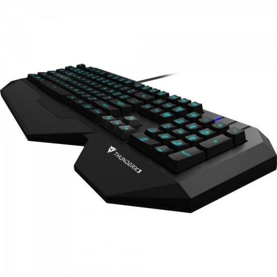 Teclado Gamer USB TK30 Preto THUNDERX3