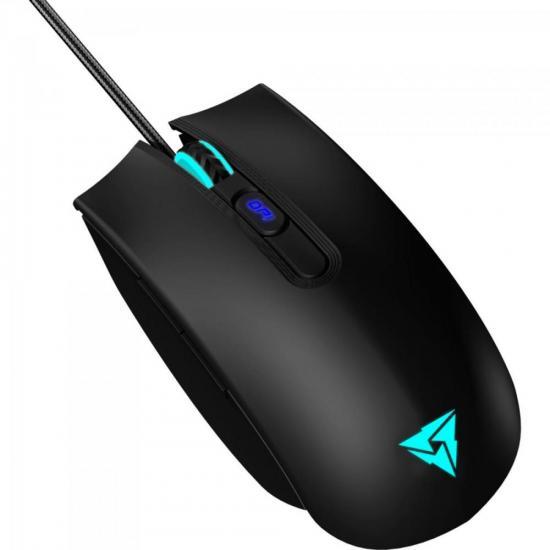Mouse Gamer USB 4000 DPI RGB TM25 THUNDERX3