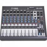 Mesa de Som 10 Canais Stereo Starmix XMS1002D Cinza LL AUDIO