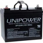 Bateria Selada UP12350 12V/35A UNIPOWER