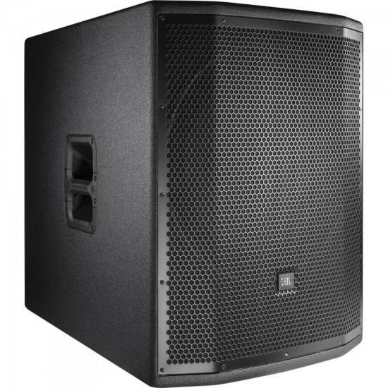 "Caixa Acústica Ativa 18"" 800W PRX 818XLFW Preta JBL"