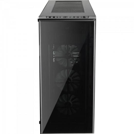 Gabinete Gamer Full Tower RGB QUARTZ PRO  Preto AEROCOOL