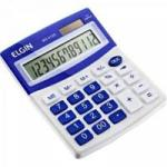 Calculadora De Mesa 12 Digitos MV 4125 Azul ELGIN