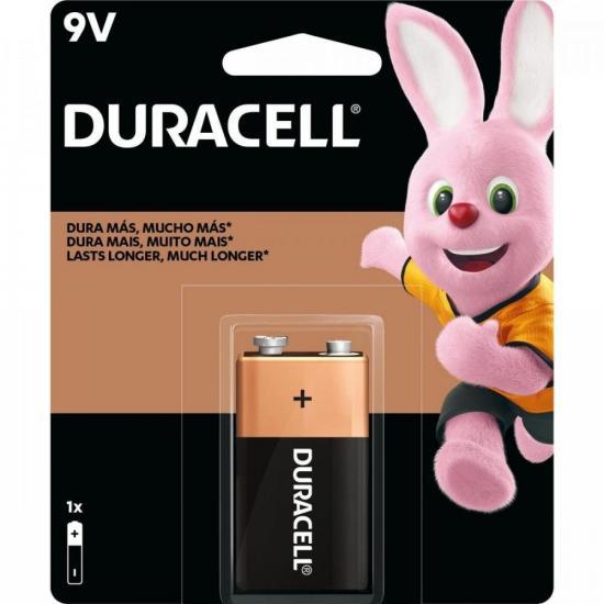 Bateria Alcalina 9V MN1604 Duracell Caixa c/12 baterias (cartela c/1)