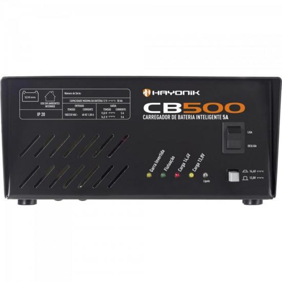 Carregador de Bateria Inteligente 5A CB500 HAYONIK