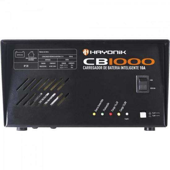Carregador de Bateria Inteligente 10A CB1000 HAYONIK