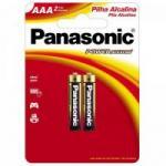 Pilha Alcalina AAA LR03XAB/2B1 (Cartela c/ 2 unid.)PANASONIC