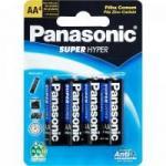 Pilha Zinco AA UM3SH Panasonic cartela c/4 pilhas