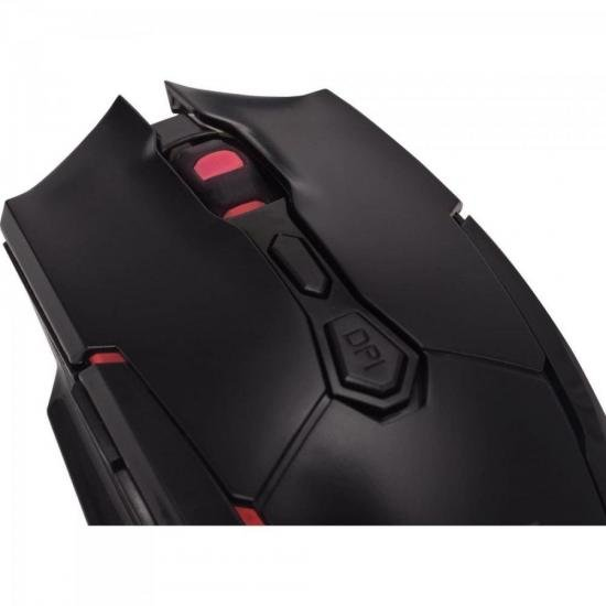 Mouse Gamer Pro M1 RGB Preto FORTREK