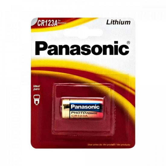 Bateria 3V Lithium Photo CR123A PANASONIC