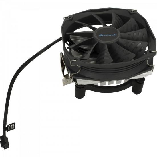 Cooler Para CPU 106x110x65mm CLR-103 Preto FORTREK