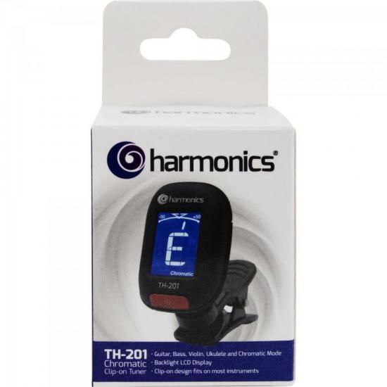 Afinador Clip CromáticoTH-201 HARMONICS