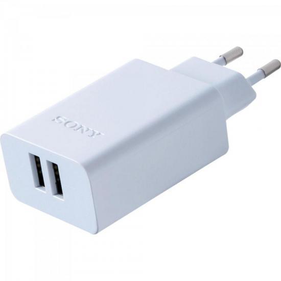 Carregador de Tomada CP-AD2M2 com 2 saídas USB 3.0A SONY