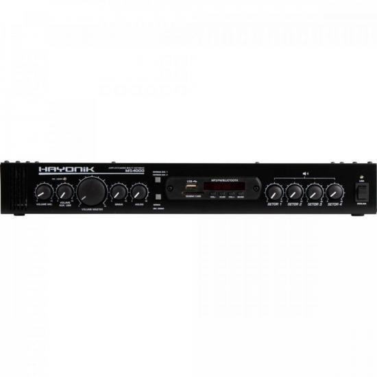 Amplificador Multi Setores MS4000 Hayonik