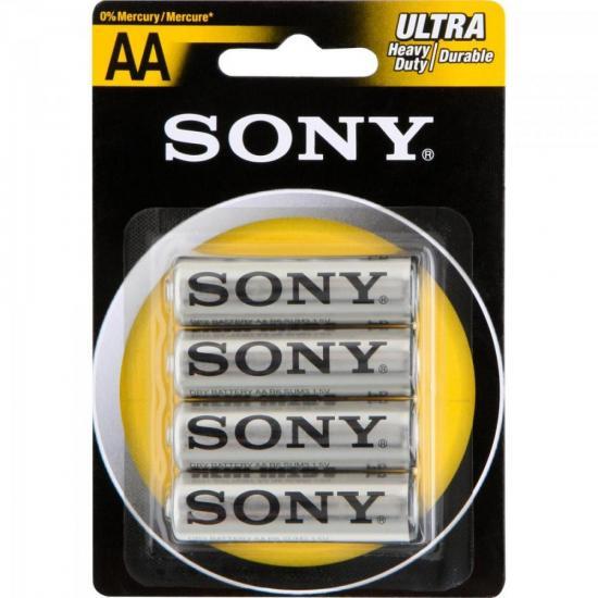 Pilha Zinco AASUM3-NUB4A Sony Caixa c/48 pilhas (cartela c/4)