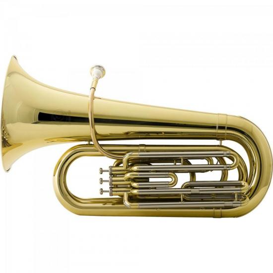 Tuba Bb 3/4 3 Pistos HBBL332L Laqueada HARMONICS