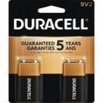 Bateria Alcalina c/ 2 Unidades 9V DURACELL