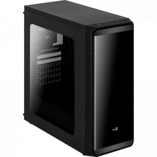 Gabinete Gamer Mid Tower SI-5200 Preto AEROCOOL
