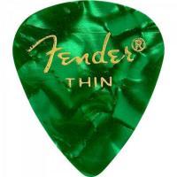 Palheta Celulóide Shape Premium 351 Thin Green Moto FENDER