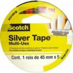 Fita Silver Tape 45mm x 5m SLEEVE 3939 Cinza 3M