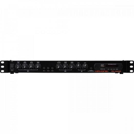 Pré-Amplificador AMBIENCE LINE PGH3000 BT C/ Gongo HAYONIK