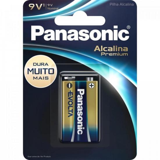 BAT PANASONIC 9V ALCALINA PREMIUM C/1