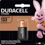 Bateria de Litio 3V CR123 DURACELL