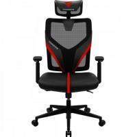Cadeira Ergonimic Yama1 Preta/Vermelha THUNDERX3