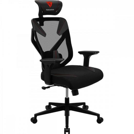 Cadeira Ergonomica Yama3 Preta/Vermelha THUNDERX3
