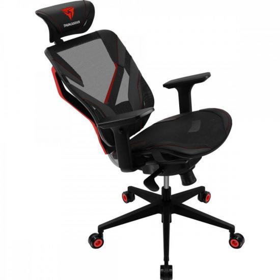 Cadeira Ergonomica Yama5 Preto/Vermelho THUNDERX3