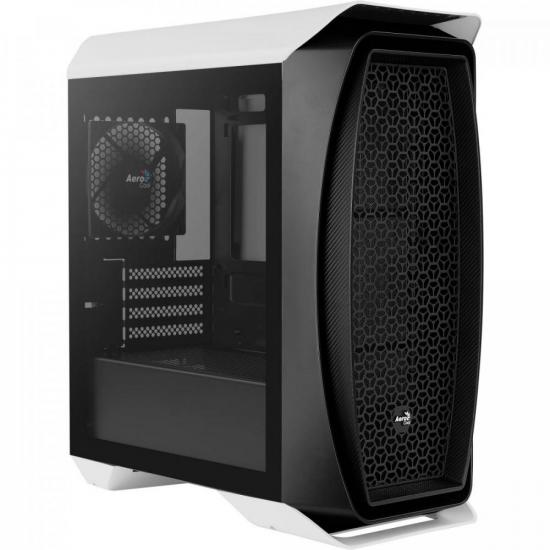 Gabinete Gamer Mini Tower Aero One Mini Branco AEROCOOL